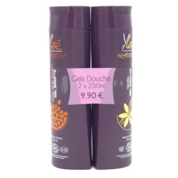 Duo gels douche vanille & fruit de la passion