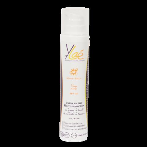 Crème solaire haute protection