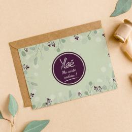 Carte Cadeau Ylaé